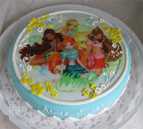 вафельные картинки для торта